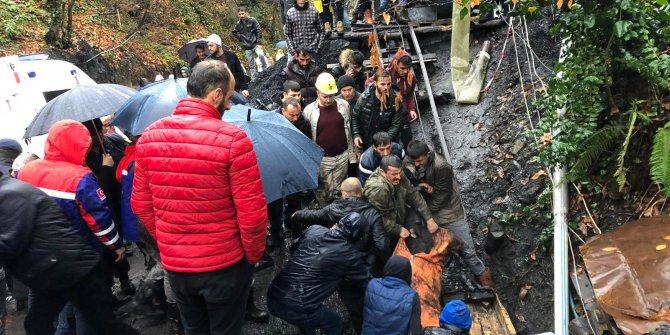 Zonguldak'ta kaçak ocakta patlama: 1 işçi öldü, 1 işçi mahsur (4)