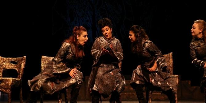 Gebze'de 'Macbeth' oyununa yoğun ilgi