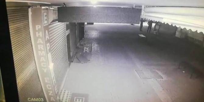 Kuyumcu dükkanına çatıdan girmek isteyen hırsız suçüstü yakalandı