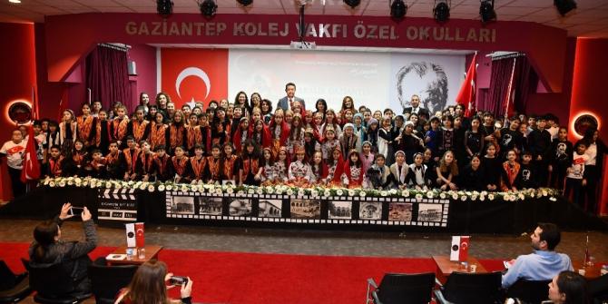 Gaziantep Kolej Vakfı'nda coşkulu kutlama