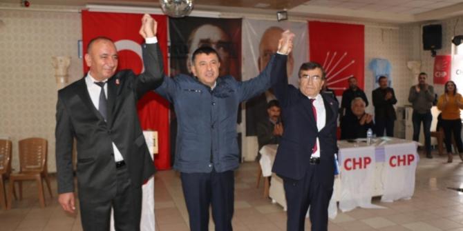 CHP Doğanşehir İlçe Başkanlığına Erdem seçildi