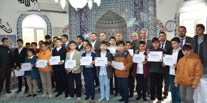 Çanakkale'de 'Kur'an-ı Kerim, Hafızlık, Ezan Okuma Yarışması' yapıldı