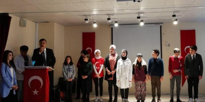 Mehmet Akif Ersoy'un şiirlerini güzel okuma yarışması