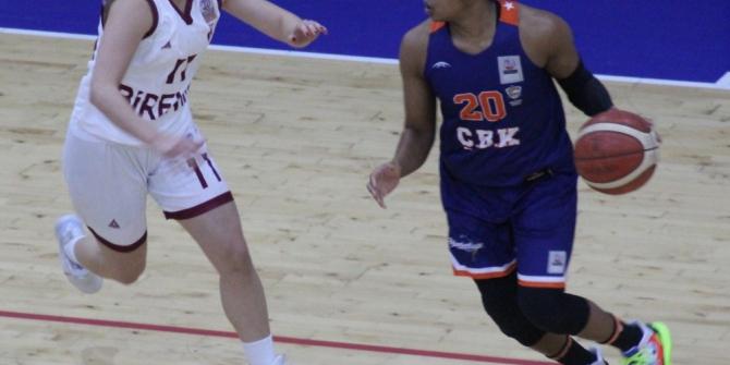 Kadınlar Basketbol Süper Ligi: Elazığ İl Özel İdare: 79 - Çukurova Basketbol: 85