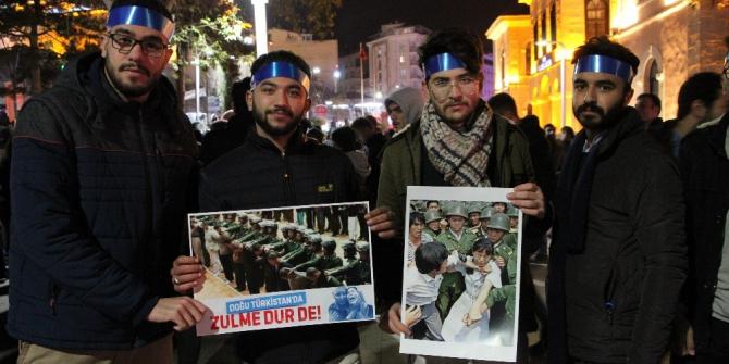 Elazığ'da Sessiz Çığlık yürüyüşü