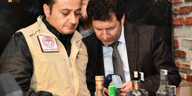Ankara'da, içkili mekanlarda yılbaşı öncesi denetim