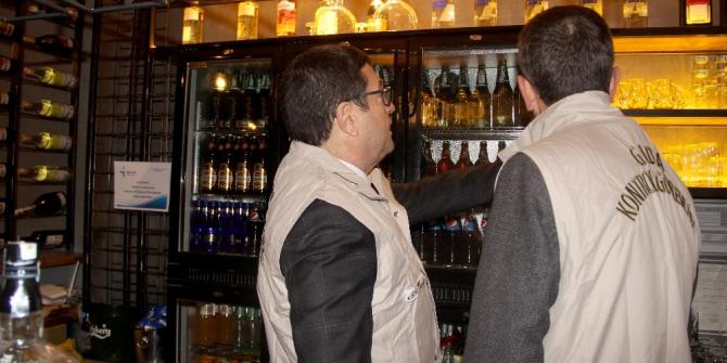 Muğla'da yeni yıl öncesi alkol denetimi