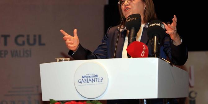 Gaziantep'e değer katanlar ödüllendirildi