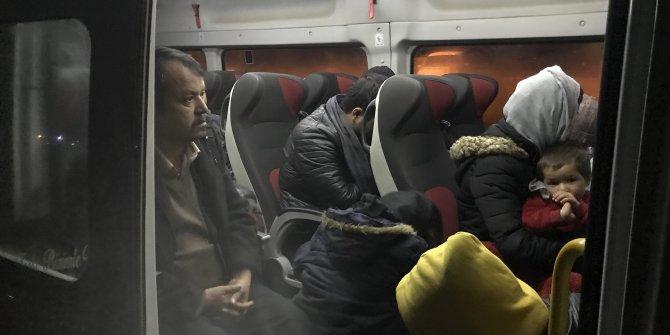 Çanakkale'de 100 kaçak göçmen yakalandı