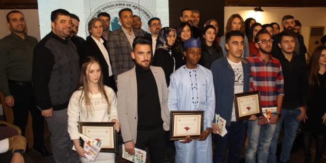 Fırat Üniversitesi'nde tekerleme yarışması