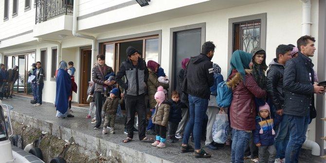Çanakkale'de 82kaçak göçmen yakalandı