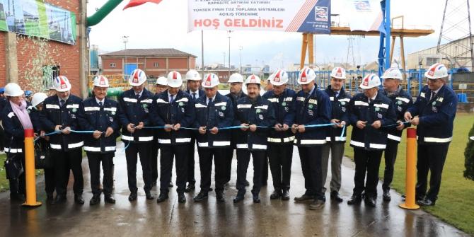 KARDEMİR 66 Milyon TL'lik çevre yatırımlarının açılışını yaptı