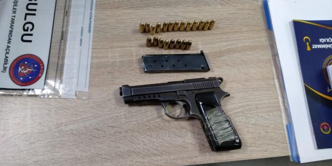 Karapürçek'te iki kişiyi silahla yaralayan firari yakalandı