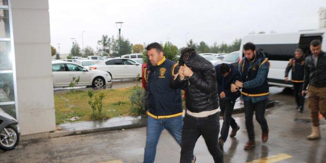 Adıyaman'da kombi ve şofben hırsızlığına 4 gözaltı