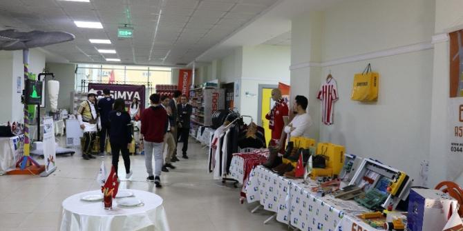 Okulda yerli milli ürün sergisi