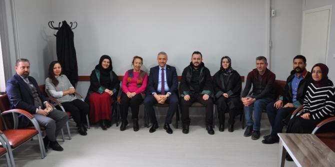 Başkan Biçer, Baro'yu ziyaret etti