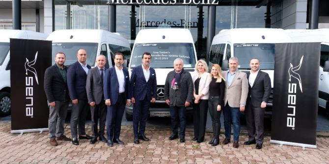Mercedes-Benz Türk'ten 50 adetlik araç teslimi