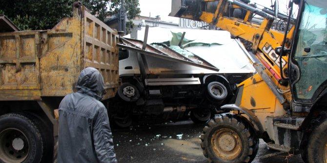 Sarıyer'de ilginç kaza