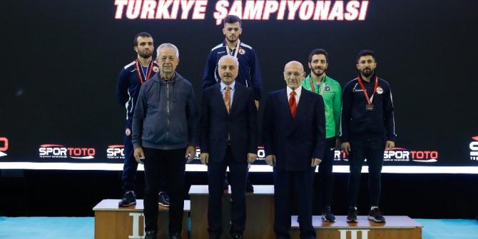Ahmet Uçar'dan bronz madalya