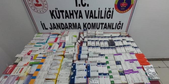 Jandarma'dan ilaç operasyonu