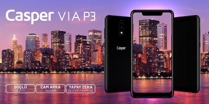 Casper VIA Akıllı telefon serisinin yeni üyesi görücüye çıktı