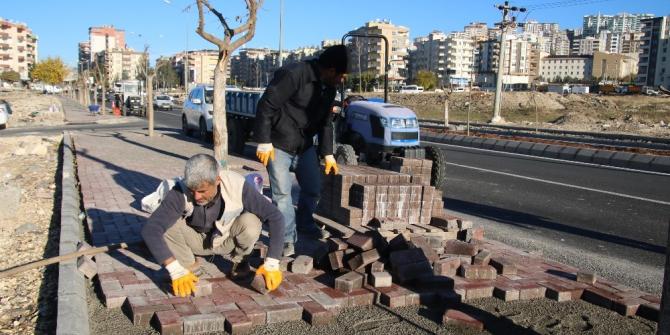 Büyükşehir'den çevre düzenleme çalışması