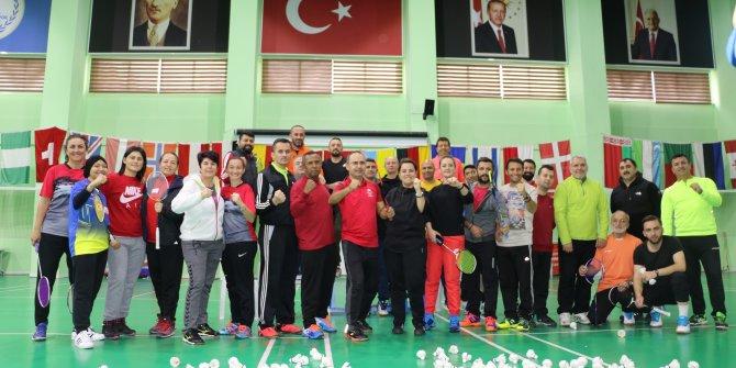 Endonezyalı badminton antrenöründen Türk antrenörlere eğitim