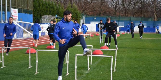Ergene Velimeşespor ikinci yarı hazırlıklarına başladı