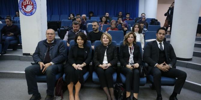 """DENİB, Denizli ve Uşak'ta """"Dış Ticaret Bilgilendirme' seminerleri verdi"""