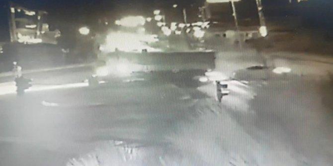 Esenyurt'ta uzman çavuşun hayatını kaybettiği kaza kamerada