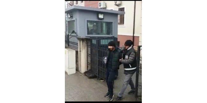 Televizyon hırsızları yakalandı