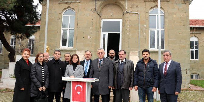 Tarihi cephe gerisi hastanesi, müze olacak