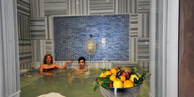 Yeni yıl için tatilcilerin adresi termal oteller