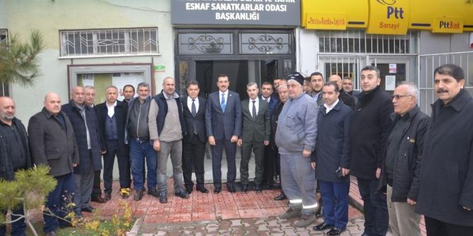 Milletvekili Tüfenkci: Altay kışlasının devrini protokol aşamasına getirdik