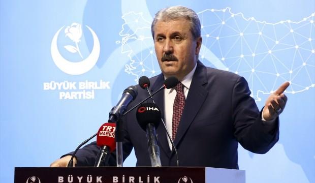 BBP Genel Başkanı Mustafa Destici'den 'asgari ücret' açıklaması