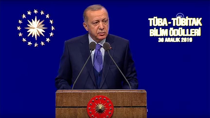Erdoğan: İstemeseler de Kanal İstanbul'u yapacağız