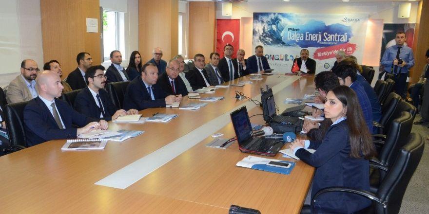"""Türkiye'de bir ilk, Zonguldak'a """"Dalga Enerji Santrali"""" kuruluyor"""