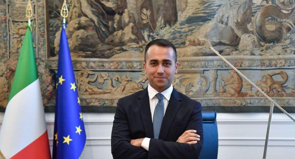 İtalya Dışişleri Bakanı, Luigi Di Maio bugün Türkiye'ye geliyor