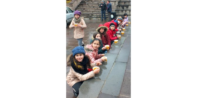 Yozgat'ta 1500 kişiye 'arabaşı çorbası' ikramı