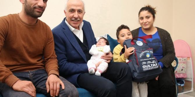 'Hoş geldin bebek' projesi aileleri mutlu ediyor