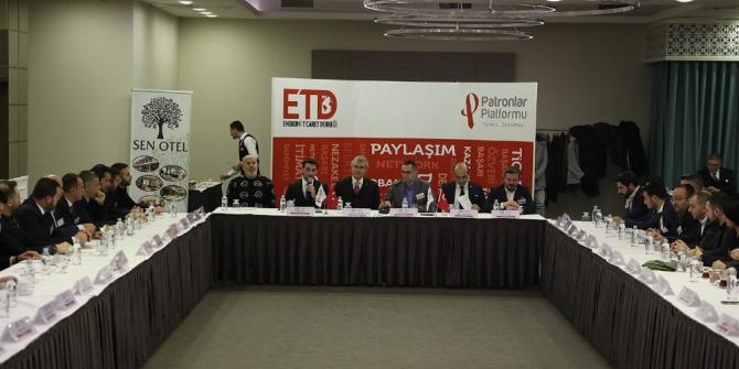 Başkan Yüce, Patronlar Platformu Toplantısına katıldı