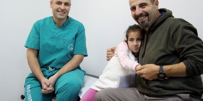 Sudenaz, koruyucu babası sayesinde sağlığına kavuştu