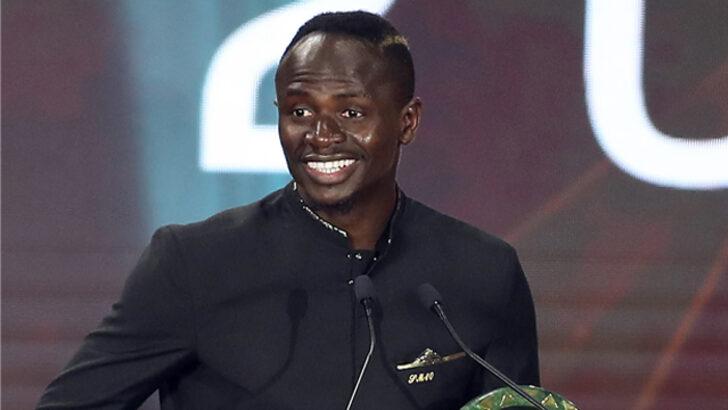 Afrika'da yılın en iyi futbolcusu Sadio Mane oldu