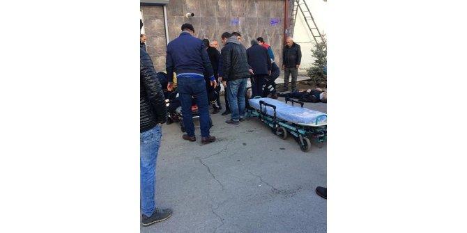 Çatı tamir sırasında çöktü: 3 yaralı