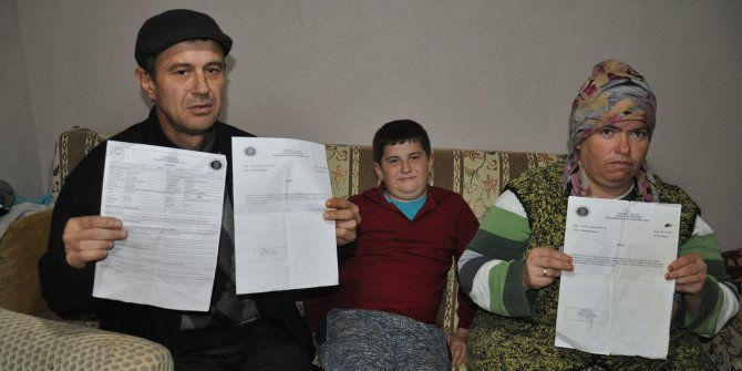 Kemik hastası oğlu için yardım isteyen babayı dolandırmaya kalktı