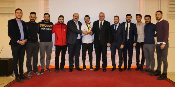 Aziziye futbol turnuvası sona erdi