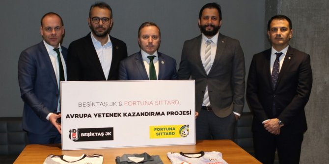 Beşiktaş'tan Türk kökenli genç yetenekler için Hollanda kulübü ile iş birliği