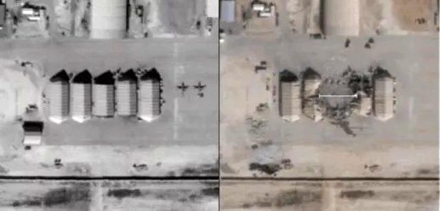 İran'ın saldırdığı ABD üssü, ilk kez görüntülendi