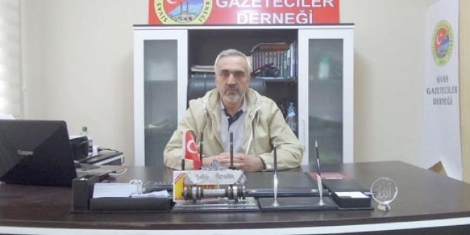 Sivas Gazeteciler Derneğinden 10 Ocak Mesajı
