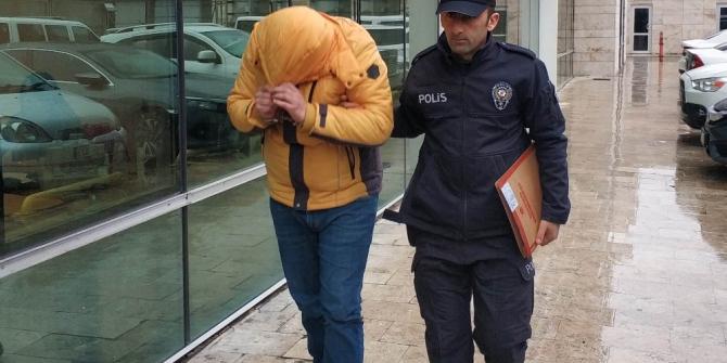 Bisiklet hırsızlığından aranan şahıs polis merkezinde yakalandı